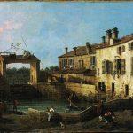 Giovanni Antonio Canal, Detto Canaletto. Molo a Dolo, 1756