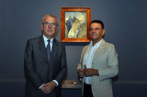 Carlo Sisi, storico dell'arte assieme al nostro Caporedattore. Photo: © Katarte.it