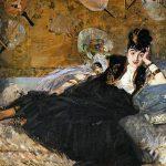 Édouard Manet. Donna con i ventagli - ritratto di Nina de Callias-, 1873