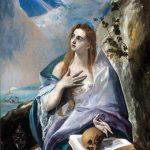 El Greco. Santa Maddalena penitente, 1576 - 1577