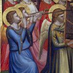 Polittico Baroncelli. Angeli musicanti, (particolare)