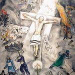 Bellezza divina. Marc Chagall. Crocifissione bianca, 1938. Olio su tela, cm. 155 x 139,8. Chicago, The Art Institute of Chicago, 1946, dono di Alfred S. Alschuler, © Chagall ®, by SIAE 2015. Photo: © Katarte.it