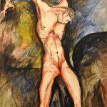 Max Ernst. Crocifisso, 1914, olio su tela cm. 55 x 38. Musei Vaticani. Direzione dei Musei © Max Ernst, by SIAE 2015. Photo: © Katarte.it