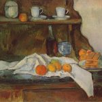 Paul Cézanne. Il Buffet, 1877-1879. Olio su tela, cm 65,5 x 81. Museo di Belle Arti di Budapest