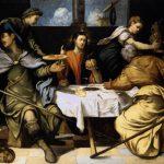 Tintoretto. Cena in Emmaus, 1542-43
