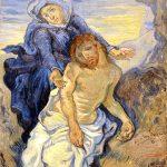 Vincent van Gogh. Pietà (da Delacroix) 1890 circa. Olio su tela, cm. 41,5x34. Città del Vaticano. Direzione dei Musei. Photo: © Katarte.it