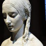bellezza divina. Vincenzo Vela. La preghiera del mattino, 1846. Gesso, cm. 139 x 59,4 x 72,6. Museo Vincenzo Vela, Ligornetto-Mendrisio. Photo: © Katarte.it