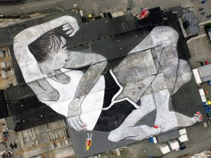 Ella & Pitr: il murales piu grande al mondo