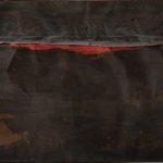 Alberto Burri. Ferro SP, 1961. Lamiere di ferro saldate in metallo, olio e punte su quadro di legno, cm. 130 x 200. Galleria nazionale d'arte moderna e contemporanea, Roma. Photo: Antonio Idini