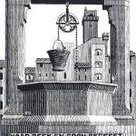 Escher. Campana di San Gimignano Piazza della Cisterna, 1931. Litografia
