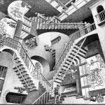 Escher. Relatività, 1953
