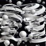Escher. Vincolo d'unione, 1956. Litografia