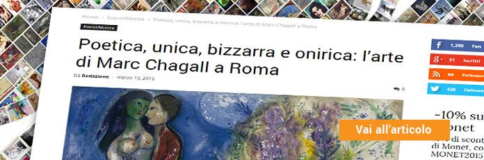 Mostra Chagall Chiostro del Bramante Roma