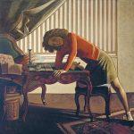 Balthus. La Pazienza (il solitario), 1943. Olio su tela, cm. 161,3 x 165,1. The Art Institute of Chicago © Balthus © Mondadori portfolio/Akg Images