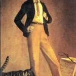 Balthus. Il re dei gatti. 1935. Olio su tela, cm. 71 x 48. Collezione privata. © Balthus © Mondadori Portfolio/Bridgeman Images