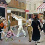 Balthus. La strada, 1933. Olio su tela, cm. 195 x 240. The Museum of Modern Art, New York, James Thrall Soby Bequest, 1979. Balthus © Mondadori Portfolio/AKG Images
