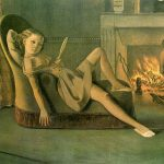 Balthus. Le belle giornate. 1944-46. Olio su tela, cm. 199 x 148. Hirshhorn Museum and Sculpture Garden, Washington, DC, USA