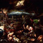 Jacopo dal Ponte, detto Bassano. L'Allegoria del Fuoco, fucina di Vulcano, 1580 - 1581 ca. Olio su tela, cm. 139.7 X 182. Courtesy Maison d'Art, Montecarlo