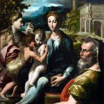 El Greco in Italia. Parmigianino. La Madonna di San Zaccaria,1530 - 1533 ca. Olio su tela,cm. 75,9 X 60,3. Collezioneprivata. Foto:Matthew Hollow