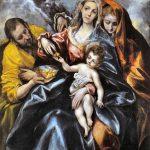 El Greco, Sacra Famiglia con la Maddalena, 1595-1600. Collezione Privata