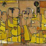 Corneille. Abitanti del deserto, 1951-1952. Olio su lino. Prestito Beni Culturali Agenzia dei Paesi Bassi (RCE), in prestito alla Schiedam City Museum © Corneille dalla SIDE 2015