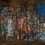 Corneille. La città 1947. Olio su tela. Collezione privata. Cortesia de La Galleria di Francoforte sul Meno. © Corneille by SIAE 2015