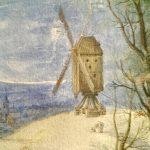 Jan Brueghel il Giovane. Sulla strada del mercato in inverno, 1625