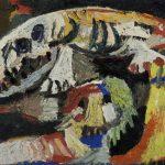 Karel Appel. Animali, 1953. Olio su tela. Collezione Cobra Museo d'Arte moderna, Amstelveen. Prestito a lungo termine da una collezione privata, Atene © Karel Appel Foundation dalla SIAE 2015 ford Karel Appel