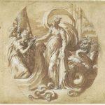 Parmigianino, Circe porge da bere ai compagni di Ulisse