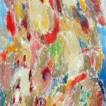 Pierre Alechinsky, L'alba. 1966. Olio su tela. La Galleria di Francoforte sul Meno © Pierre Alechinsky by SIAE 2015