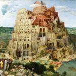 Pieter Bruegel il Vecchio. Grande Torre di Babele, 1563. Olio su tavola, cm. 114 x 155. Kunsthistorisches Museum, Vienna