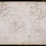 Raffaello. Studio per una Madonna col Bambino. Museo delle Belle Arti, Lilla