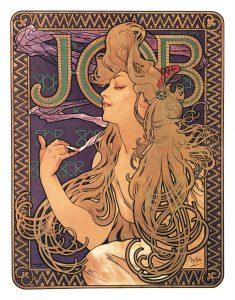 Alfons Mucha. Job, 1898 - Art Nouveau
