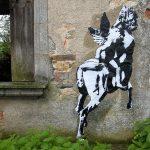 Blak le Rat. Il centauro Chateau de Bagnac, 2003. ©Sybille-Prou