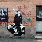 Blek le Rat. The Man who walks through Walls. Wunderkammern, 2015. Roma, Photo by © Blind Eye Factory - Urban Art