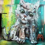 Bordalo II. Gatto