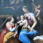 Denijs Calvaert. Matrimonio mistico di S. Caterina d'Alessandria, fine XVI inizio XVII sec.