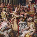 Prospero Fontana. la Disputa di Santa Caterina d'Alessandria, 1560- 80