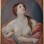 Guido Reni. Cleopatra, 1640 - 42. Olio su tela, cm. 91 X 73