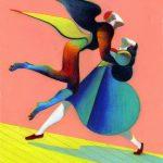 Lorenzo Mattotti. Nuithonie. Serie di poster, 2009