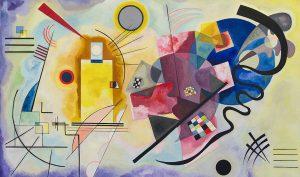 Vassily Kandinskij. Giallo,rosso, blu. 1925