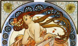 Alfons Mucha. La Danza