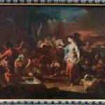 Corrado Giaquinto. Rachele al pozzo, 1750 circa. Olio su tela, cm. 49 x 63,5. Provenienza: mercato antiquario. San Valentino