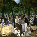 Edouard Manet. Musica nei giardini delle Tuileries, 1862. Olio su tela, cm. 76.2 x 118.1. © The National Gallery, London, lascito di Sir Hugh Lane, 1917