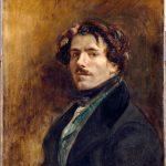 Eugène Delacroix. Autoritratto, 1837 ca. Olio su tela, cm. 65 x 54.5. Museo del Louvre, Parigi. © RMN-Grand Palais / Jean-Gilles Berizzi
