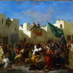 Eugène Delacroix. Convulsionisti a Tangeri, 1837-38. Olio su tela, cm. 97,8 x 131,3. © The Minneapolis Institute of Art