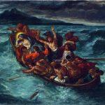 Eugène Delacroix. Cristo calma la tempesta, circa 1853. Olio su tela, cm. 50,8 X 61. The Metropolitan Museum of Art, New York