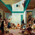 Eugène Delacroix. Pierre-Auguste Renoir. Matrimonio ebraico in Marocco (dopo Delacroix), 1875 ca. Olio su tela, cm. 108.7 x 144.9. © Worcester Art Museum, acquistato dal Massachusetts Museum nel 1943