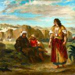 Eugène Delacroix. Veduta di Tangeri con figure, 1853. Olio su tela, cm. 47.2 x 56.4. © The Minneapolis Institute of Art. Dono di Georgiana Slade Reny