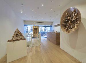 Galleria Tornabuoni. Veduta della mostra